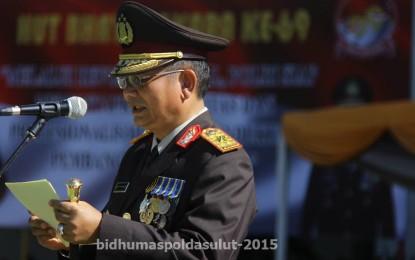 Upacara Hari Bhayangkara ke-69, Irup Kapolda Sulut