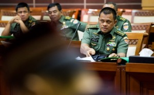 Calon Panglima TNI, Jenderal Gatot Nurmantyo.