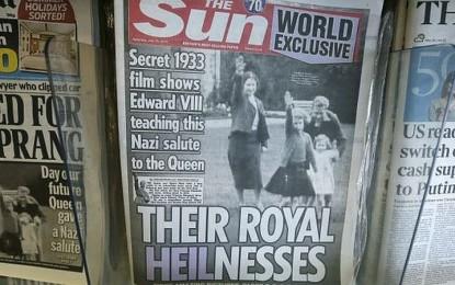 Menguak Sejarah 'Salam Nazi' Keluarga Kerajaan Inggris