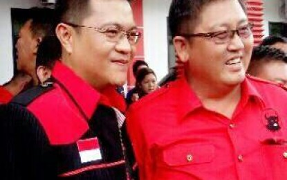 HJP – ToRang Ditetapkan DPP PDIP Pasangan Cawali Dan Cawawali Manado