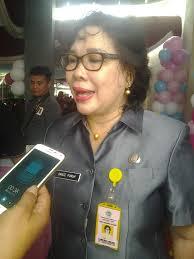 Kadis Kesehatan Provinsi Sulut dr Grace L Punuh MKes.