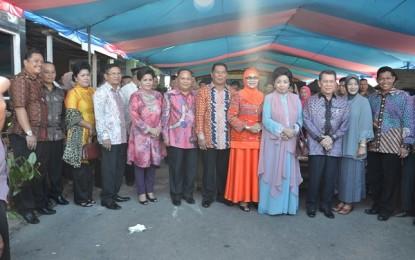 Gubernur dan Rombongan Bersafari Lebaran di Bolmong Raya