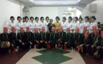 Wulan Dan Waraney Minahasa Ikut KIN Pemuda di Jakarta