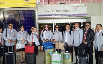 Peserta DIKLAT PIM III Minahasa Benchbarking di Pemkot Tangsel