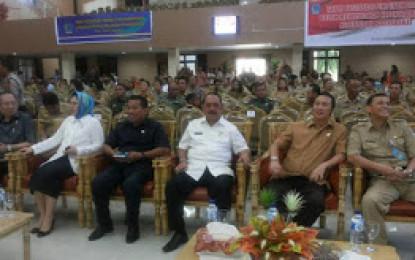Humiang Hadiri Rapat Fasilitasi Koordinasi Pimpinan Daerah