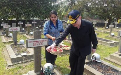 Pemprov Ziarah TMP Kalibata di Makam Para Mantan Gubernur Sulut