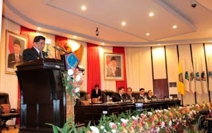 Rapat Paripurna istimewa dalam rangka HUT Provinsi