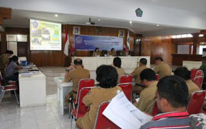 Hasjim Buka Seminar Presentase Laporan Antara Tata Ruang Madidir