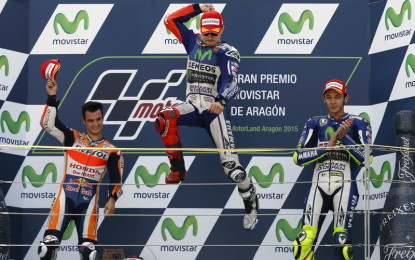 Rajai Aragon, Lorenzo Jaga Asa Raih Titel MotoGP 2015