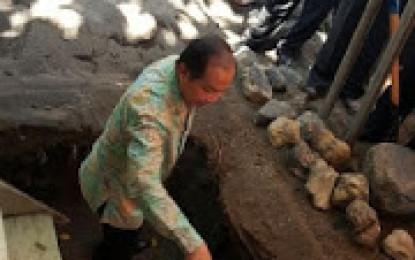 Peletakkan Batu Pertama Gereja GMIM Victory