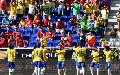 Brasil Menang Tipis atas Kosta Rika