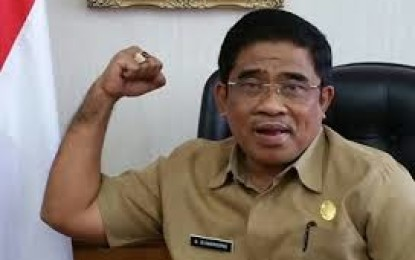Pj. Gubernur Gelar Rapat Bersama Jajaran Pemprov Sulut