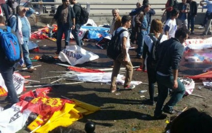 Bom Ankara Ditujukan Merusak Demokrasi Turki