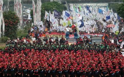 Buruh: PP Pengupahan Sarang Penyamun!