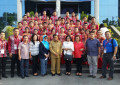 Tim Pesparawi Sulut ke Ambon, Pj Gubernur Sumarsono Mensuport