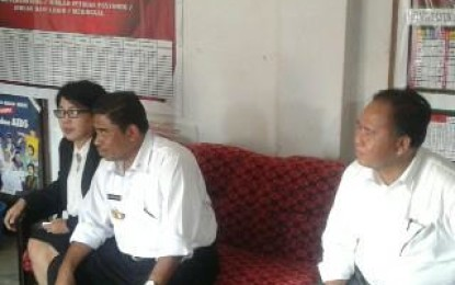 Kunjungan Pj Gubernur Sulut,Disambut Sekda Minahasa