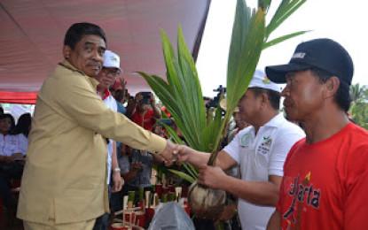 Pj. Gubernur Canangkan GSM di Desa Koka Minahasa