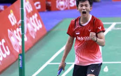 Ini Satu-satunya Tunggal Putra Indonesia ke Semifinal