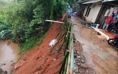 Memasuki Musim Hujan,Minahasa Kategori Rawan Bencana