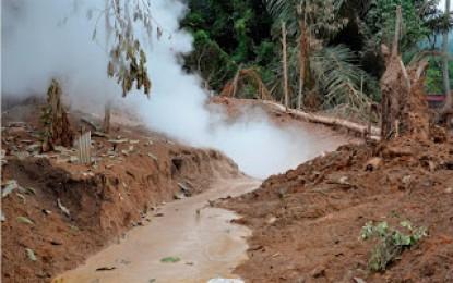 Hanya Fenomena Alam Semburan Uap Panas di Tondangow