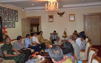 Ketua BPK Sambangi Kantor Gubernur, Evaluasi Penyusunan LKPD