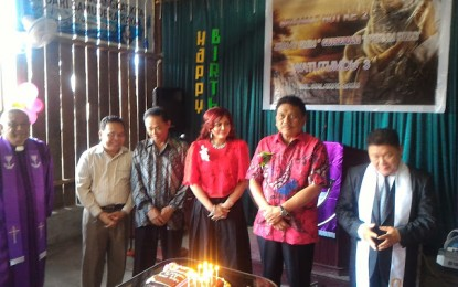 Gubernur Sulut hadiri HUT Ke-2 Jemaat GMIM Getsemani Watutumou