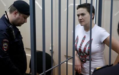 Pengadilan Rusia Memvonis 22 Tahun Penjara Pilot Perempuan Ukraina Ini