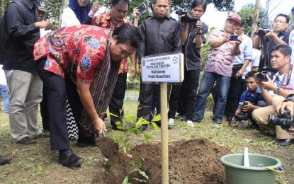 Wagub Himbau Masyarakat Kembalikan Fungsi Lahan Pasca Fenomena El-Nino