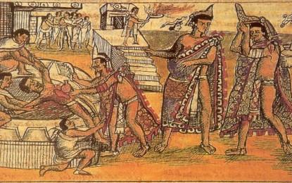 Ritual Pengorbanan Manusia Tersadis ala Suku Aztec