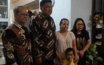 Gubernur Temui Menlu dan Keluarga Korban Sandera