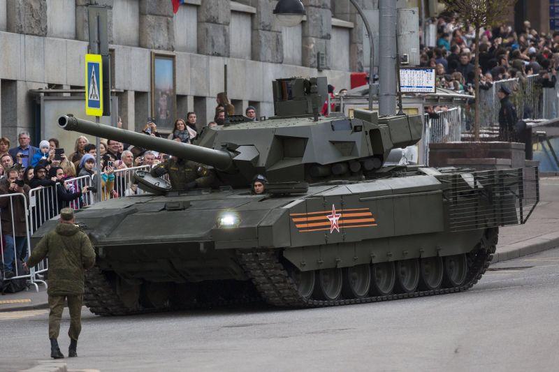 Как сделать танк армата видео