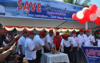 Canangkan a�?Save Bunakena�?, Gube rnur: Bunaken Jadi Idola Penyelam Dunia