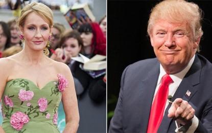 Donald Trump di Bela JK Rowling
