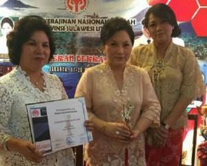Dekranas Sulut Raih Penghargaan