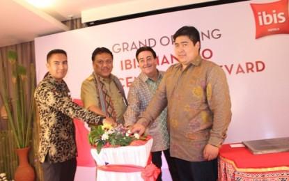 Gubernur Sulut Resmikan Hotel Ibis Manado