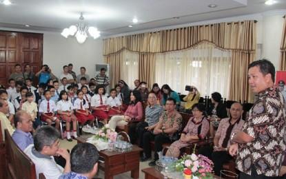Wagub Minta Diknas Sulut Fasilitasi Peserta OSN di Palembang