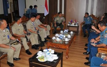 Philipina – Indonesia Tingkatkan Hubungan Kerjasama Militer