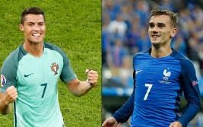 Ronaldo Atau Griezmann? Peraih Ballon D'Or 2016