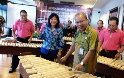 Gelar Seminar, Sundah Mantapkan Seni Budaya Kolintang