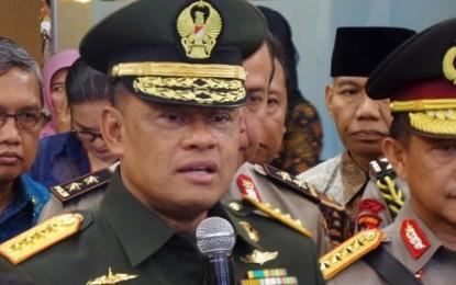 Panglima TNI Telusuri Pengakuan Budiman Atas Terlibatnya Oknum Jenderal