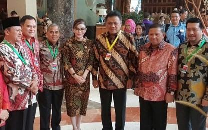 Pimpinan Daerah Asal Sulut Hadiri Rakornas TPID