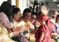 TIFF Meriah, Megawati Nikmati Pawai Bunga