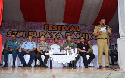 Gubernur Dondokambey Buka Festival Bantik 2016