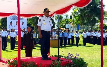 Gubernur Dondokambey Irup di Harhubnas 2016