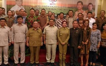 Gubernur Minta HKTI Sulut Jadi Petani Hebat