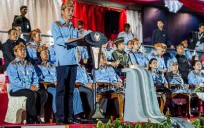 Dibuka Jokowi, Tim PON XIX Sulut Tampil Prima