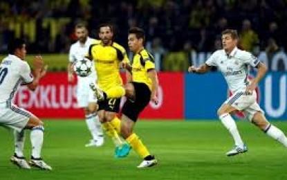 Mengapa Real Madrid Bermain Imbang Melawan Dortmund?