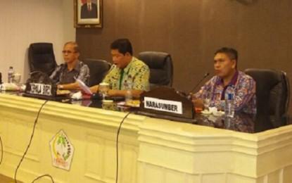 Pemprov Bicarakan Penanggulangan Bencana Daerah