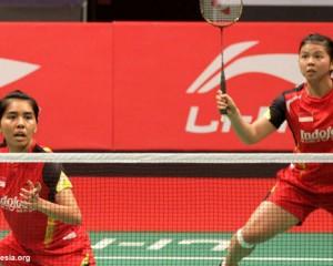 Di Semifinal Denmark Open 2016, Greysia/Nitya Jadi Wakil Indonesia