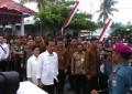 Presiden Joko Widodo Kunjungi Pos TNI AL di Miangas